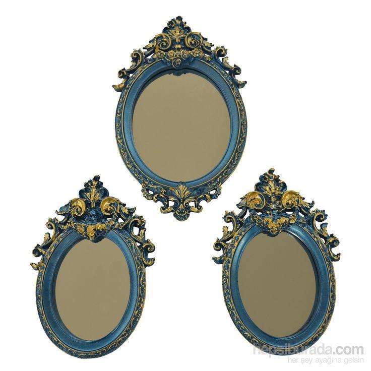 Rüyam Barok 3'Lü Ayna Takımı Fiyatı - Taksit Seçenekleri