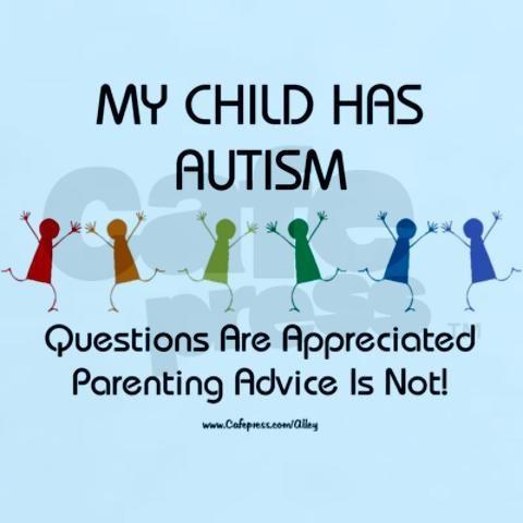 Autism Awareness - For more, visit http://www.pinterest.com/AliceWrenn/