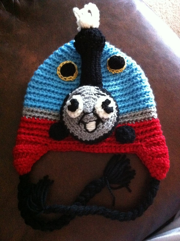 Free Crochet Hat Pattern For Thomas The Train : Thomas the Train Thomas the Train Pinterest