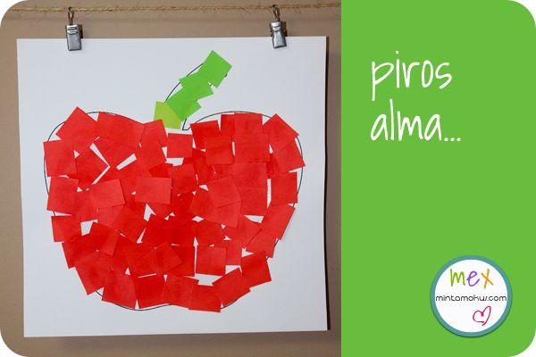 alma Piros alma   letölthető mintával