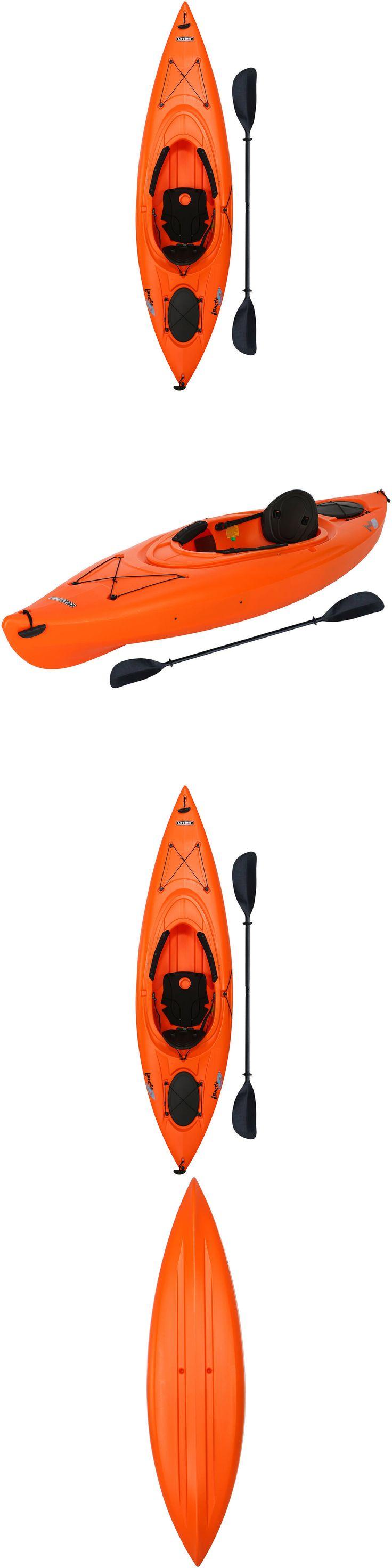 Kayaks 36122: New Lifetime Lancer 10 Sit-In Inside Lake, Ocean, Or River Kayak W Paddle -> BUY IT NOW ONLY: $399.99 on eBay!