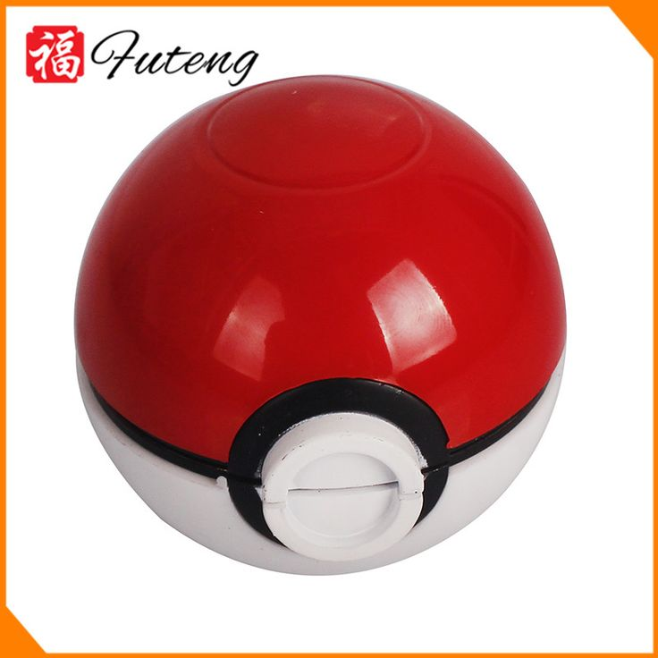 Wholsale Smoking Accessories 55mm Pokeball Zinc Herb Grinder Tobacco Pokemon Grinder