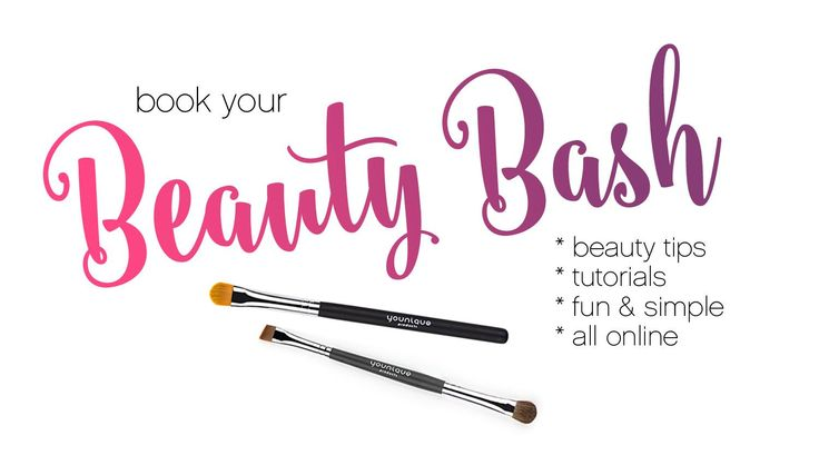 Younique beauty bash FB cover