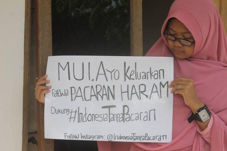 Gerakan Indonesia Tanpa Pacaran Desak MUI Keluarkan Fatwa Pacaran Haram