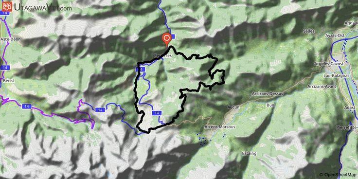 [Hautes-Pyrénées] Ferrières - Spandelle et retour par la vallée du Litor Boucle au départ de Ferrières via Spandelle par une piste puis bascule sur le refuge d'Hougarou et passage à Couraduque avant de rejoindre le col de Bazes puis direction le Soulor avant de prendre la direction de l'Aubisque. On laisse la route de l'Aubisque assez rapidement pour plonger dans la vallée du Litor pour une belle descente jusqu'à Ferrières.