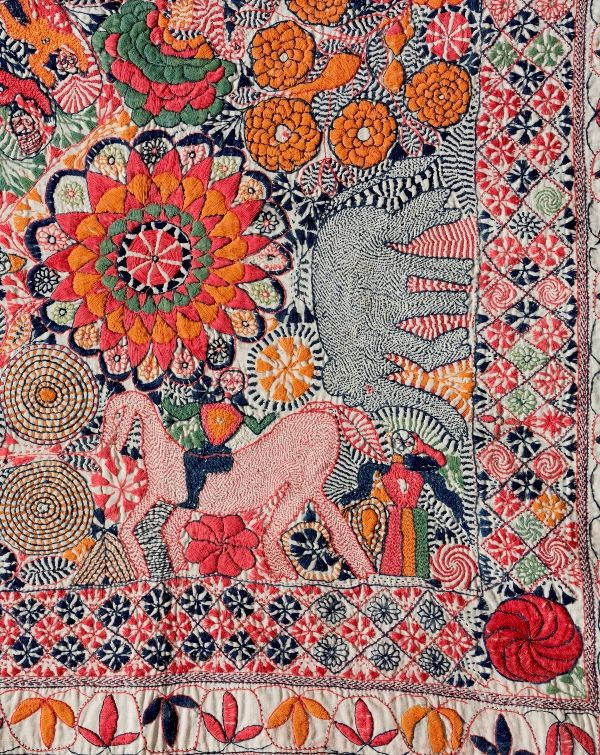 Kantha: The Embroidered Quilts of Bengal.