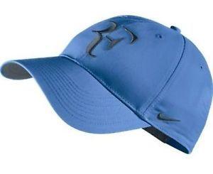 NIKE PREMIER RF ROGER FEDERER HYBRID ADJUSTABLE TENNIS HAT WAS $26 #wimbledon #nadal #switzerland