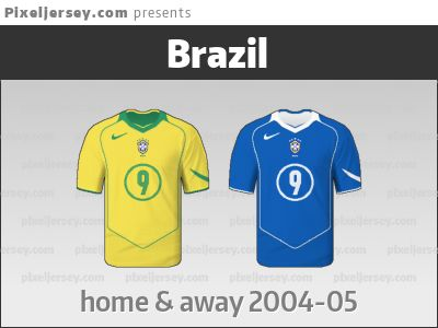 From the time when Brazil won the Copa America, the South American World Cup qualifying campaign and the Confederations Cup - and besides wore a remarkable jersey.