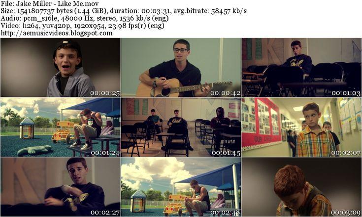 #AEMusicVideos Jake Miller - Like Me (Master 1080p)