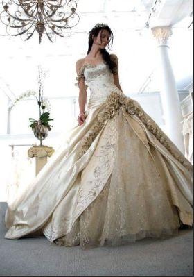 Elaborate Wedding Dress