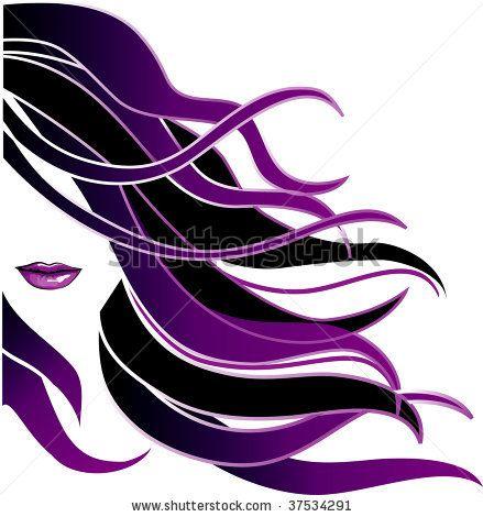 logos for hair salon signs | Hair Icon Stock Vector 37534291 : Shutterstock