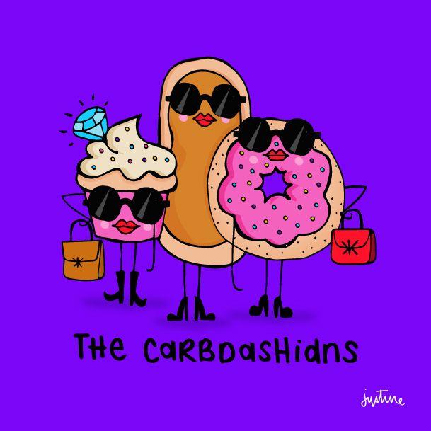 The Carbdashians @missjussymo