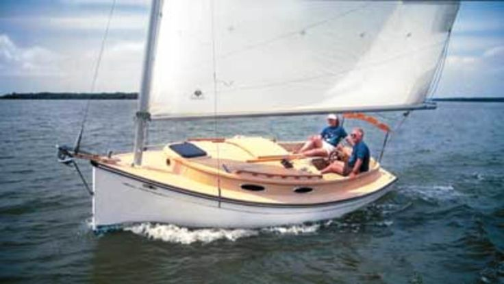 Trailer-sailors enjoy small sailboats. Some are open cockpit daysailers. Some are small live-aboard cabin cruisers. All are easy to rig, launch and retrieve—and fun to sail.Every trailer-sailing family with a sailboat loves the idea that they can cruise their dreamboat to windward at 55mph in any direction they wish. Most of these boats can be stored in the family garage. Snowbound