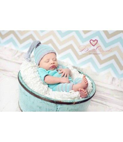 Newbornpakje blauw/grijs (nr1) Kleding / setjes