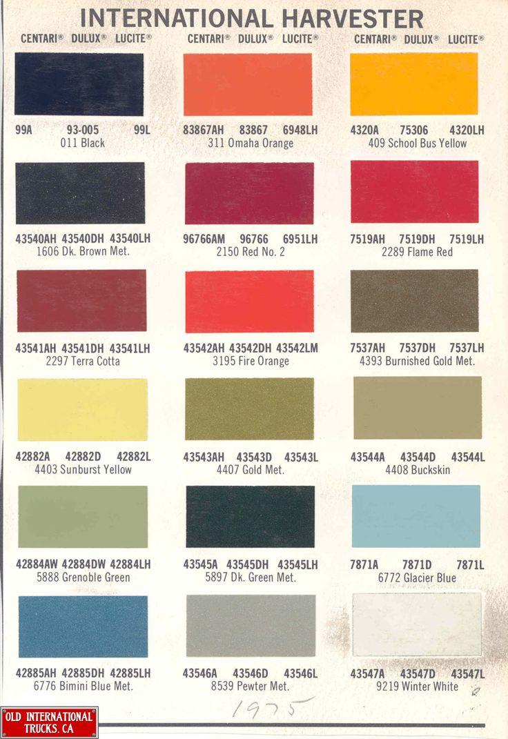 C Paint Colors Scout