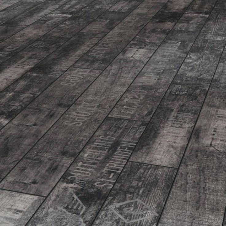 Black and grey laminate flooring gurus floor for Black laminate flooring