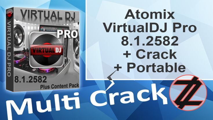 Atomix VirtualDJ Pro 8.1.2582 + Crack + Portable By_ Zuket Creation Direct Download Here !!! http://multicrackk.blogspot.com/2015/11/atomix-virtualdj-pro-812582-crack.html