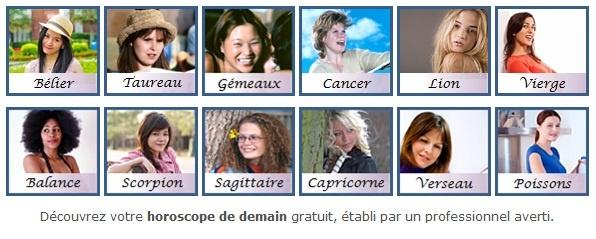 Horoscope de demain gratuit en ligne