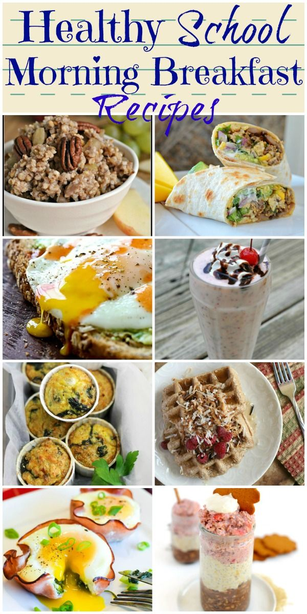 Healthy breakfast recipes that are quick and easy or can be made ahead to get…