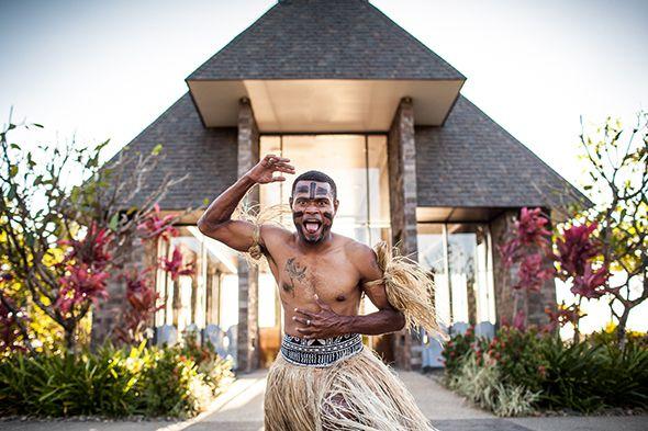 Loloma (Love) Wedding Chapel & Warrior at InterContinental Fiji #Bula