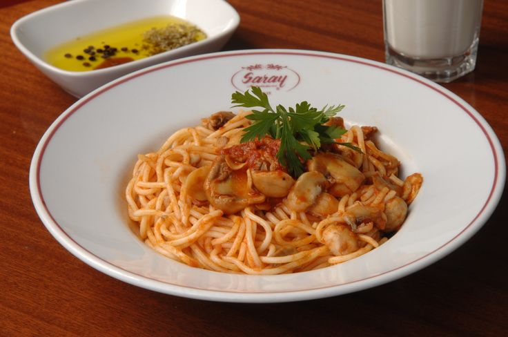 Spagetti Mantarlı