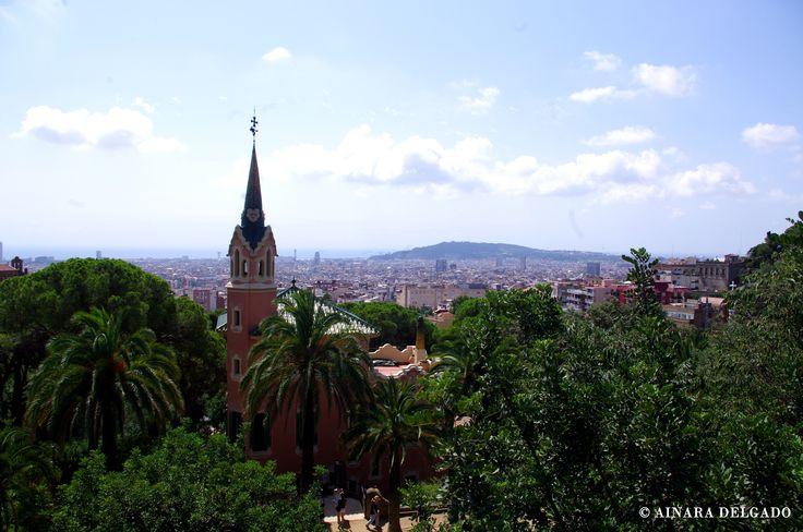 Casa Museo Gaudí y vistas - Parque Güell - Barcelona 13-08-2015