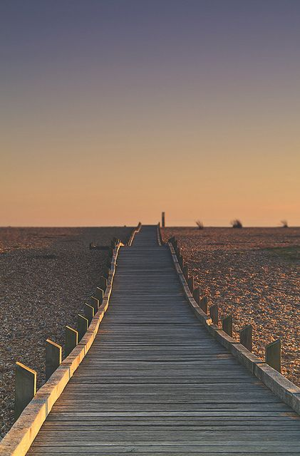 dreamy boardwalk sunset in dungeness, england | jennifer picard photography ~ creative boutique photography