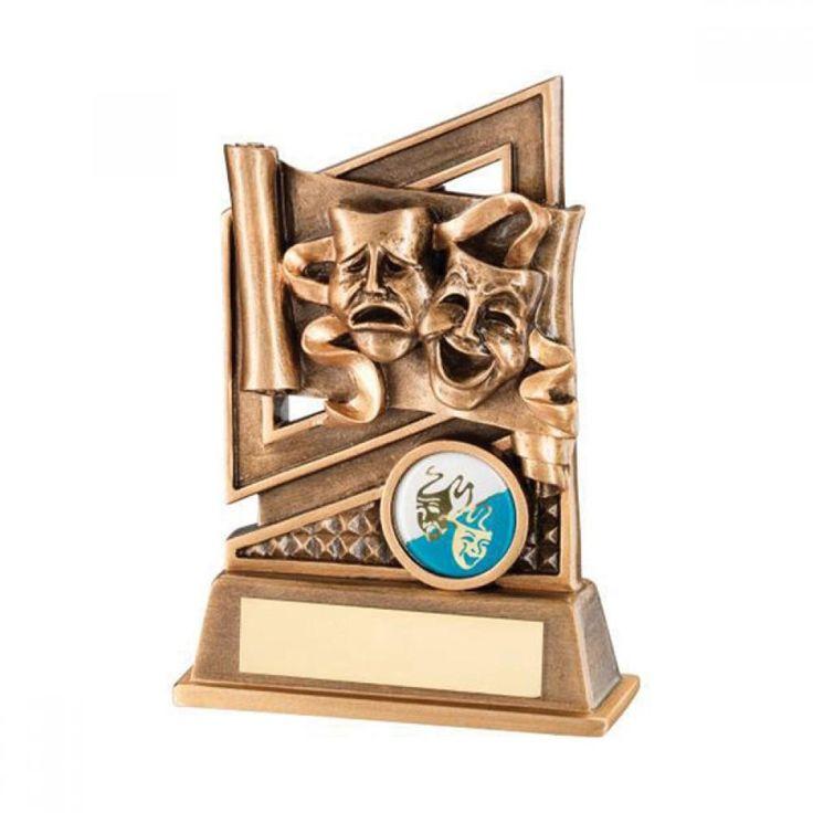 Resin Drama Masks Award 13cm dazzle-dancewear.co.uk