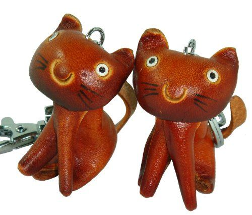 Wooden craft of cats for key chain $14 @Kitty Purring #catlovers #gifts