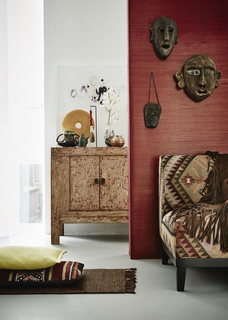 25 beste idee n over bamboe behang op pinterest for Four decor international srl