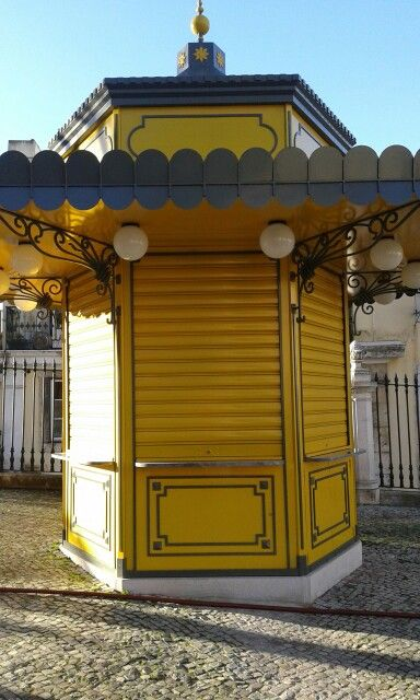 Kiosk Lisbon