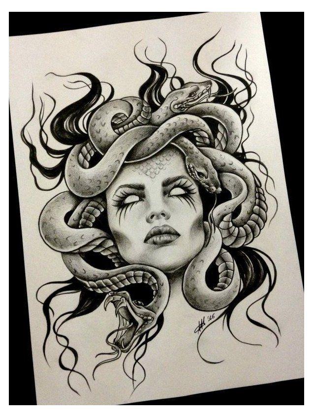 Gott Tattoos, Ems Tattoos, Body Art Tattoos, Sleeve Tattoos, Tattoos For Guys, Chicano Art Tattoos, Small Tattoos, Medusa Tattoo Design, Tattoo Design Drawings
