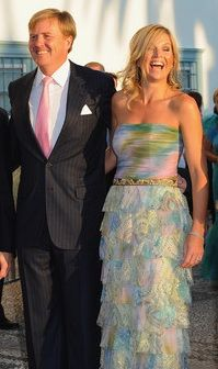 Willem Alexander and Maxima, the future King and Queen