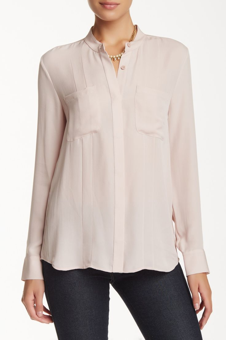 Frank Silk Blouse by Rebecca Minkoff on @HauteLook