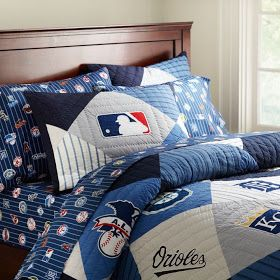 PB Look-Alikes: PB Teen New MLB American League Quilt and Sham