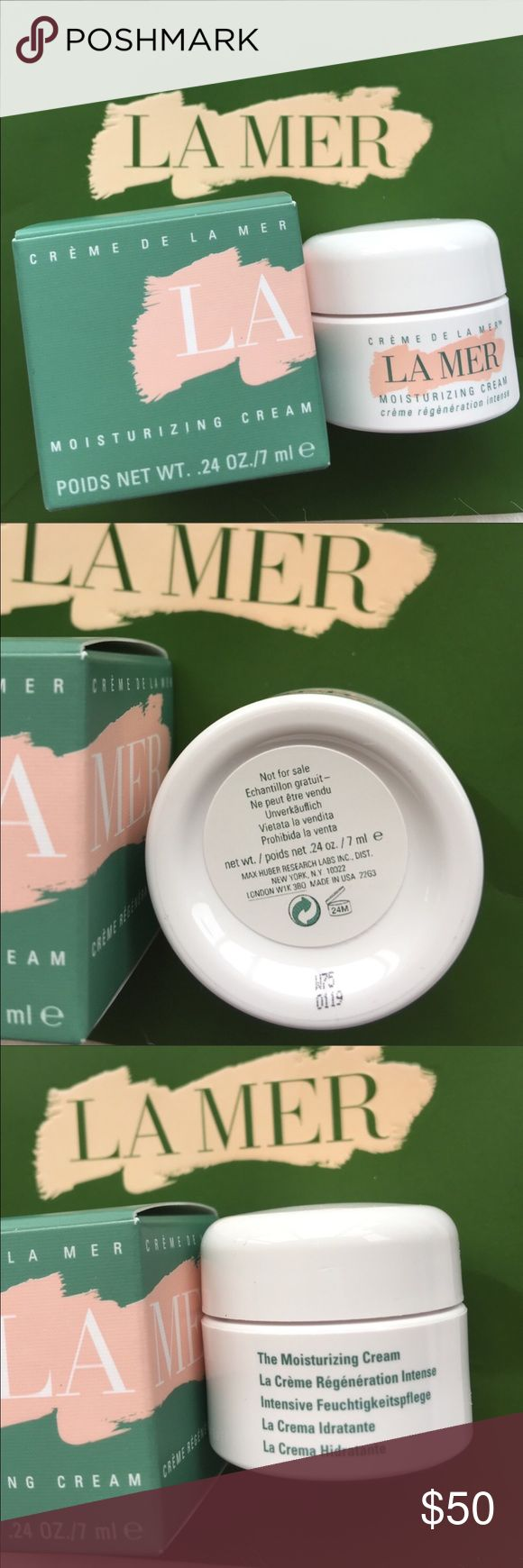 La Mer classic moisturizer cream Price firm❣️Brand new. Never used. 7ml deluxe travel size. 🚫no trades. I have 3 of them. La Mer is the BEST skincare you can find so far in stores. I've been using them for five years and kinda an expert. Explore my closet for more la Mer travel sizes item to try out prior to purchasing the full size in stores. Let me know if you have any questions :-) La Mer Makeup
