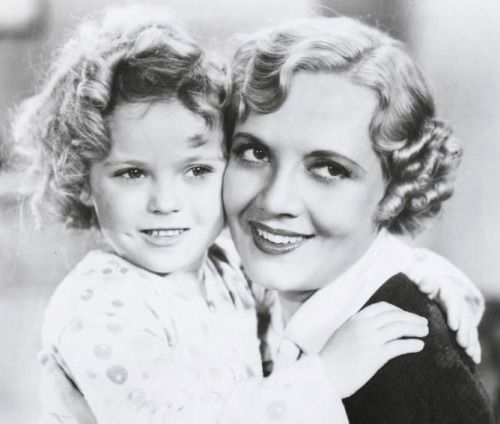 Shirley Temple and Lois Wilson in Bright Eyes, 1934.