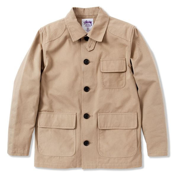 Stussy Deluxe Twill Hunting Jacket