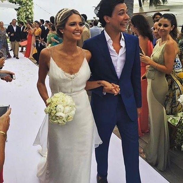 Os noivos Helena e Humberto (Foto: Reprodução/ Instagram)