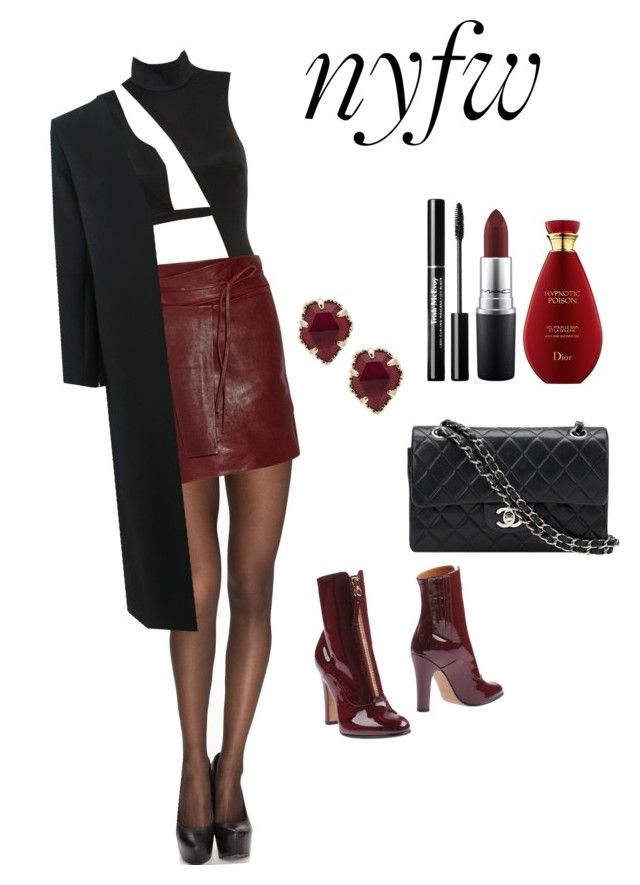 """nyfw💅🏻"" by parisianights on Polyvore featuring moda, Pieces, Isabel Marant, Valentino, Kendra Scott, Chanel, Marni ve MAC Cosmetics"