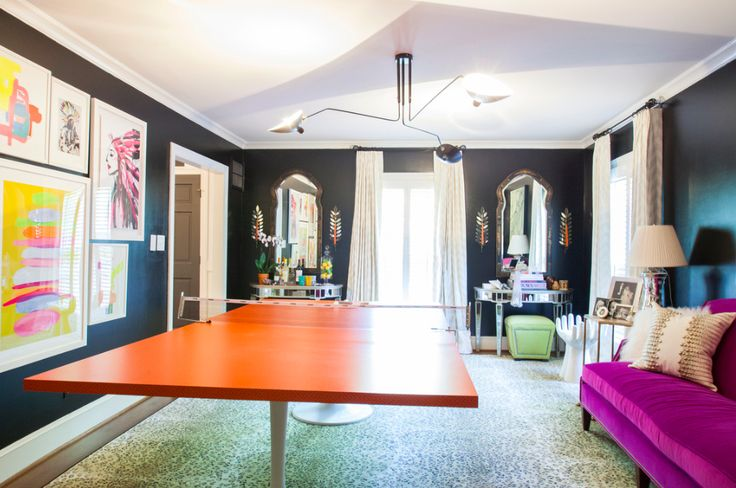 One Room Challenge Spring 2015: THE PING PONG EMPORIUM REVEAL | The English Room