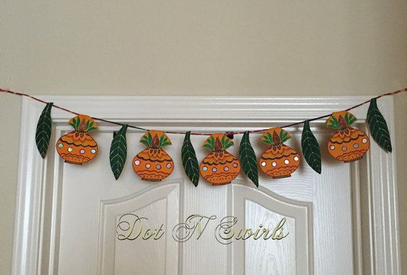 HandmadeuniqueKalsh and mango leaf shape by dotnswirls on Etsy