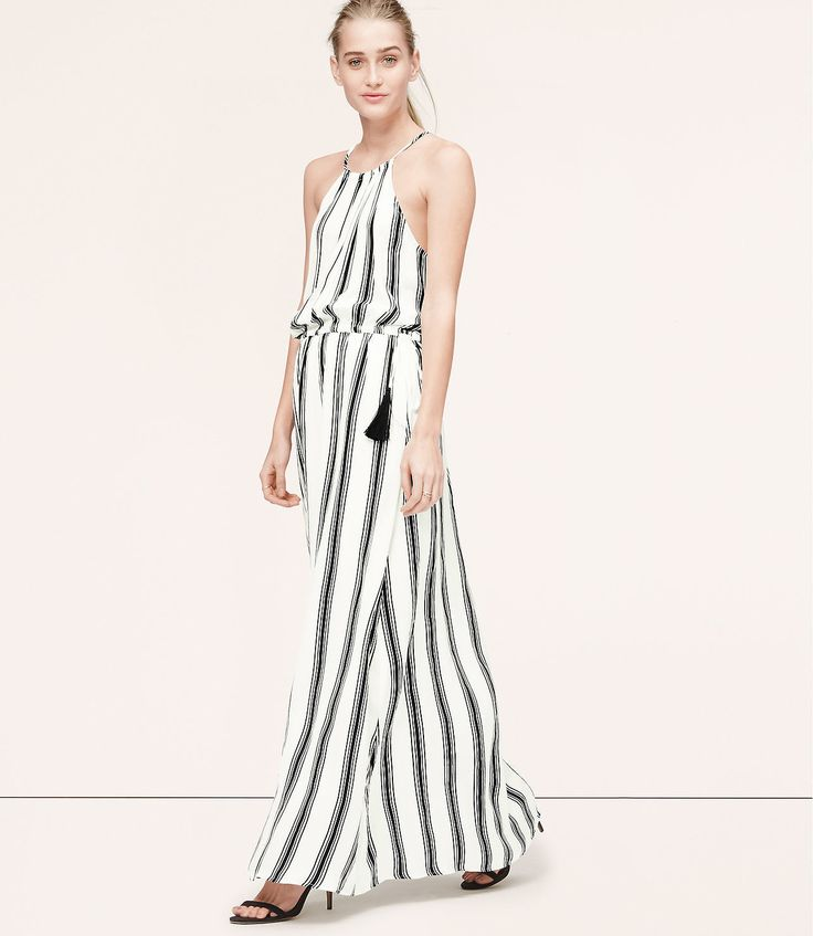 Loft-Stripe-Tasseled-Halter-Maxi-Dress