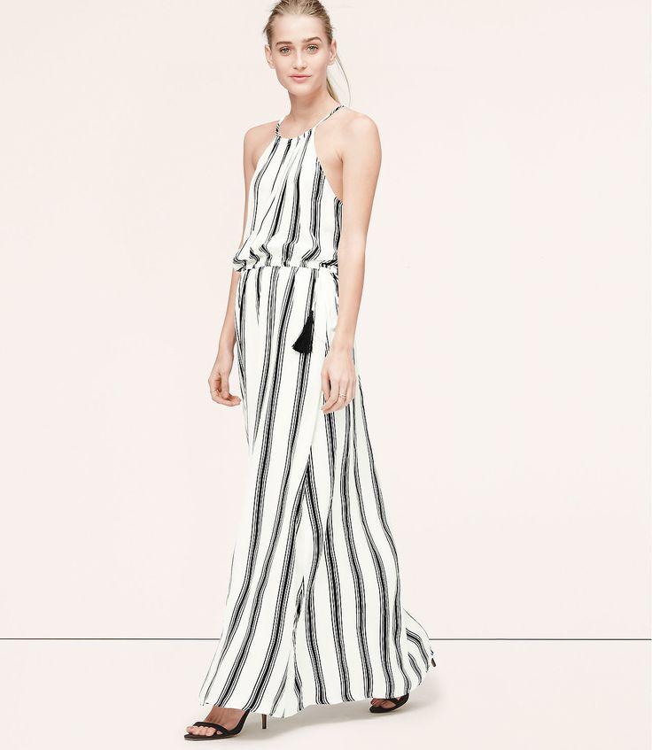 Loft-Stripe-Tasseled-Halter-Maxi-Dress