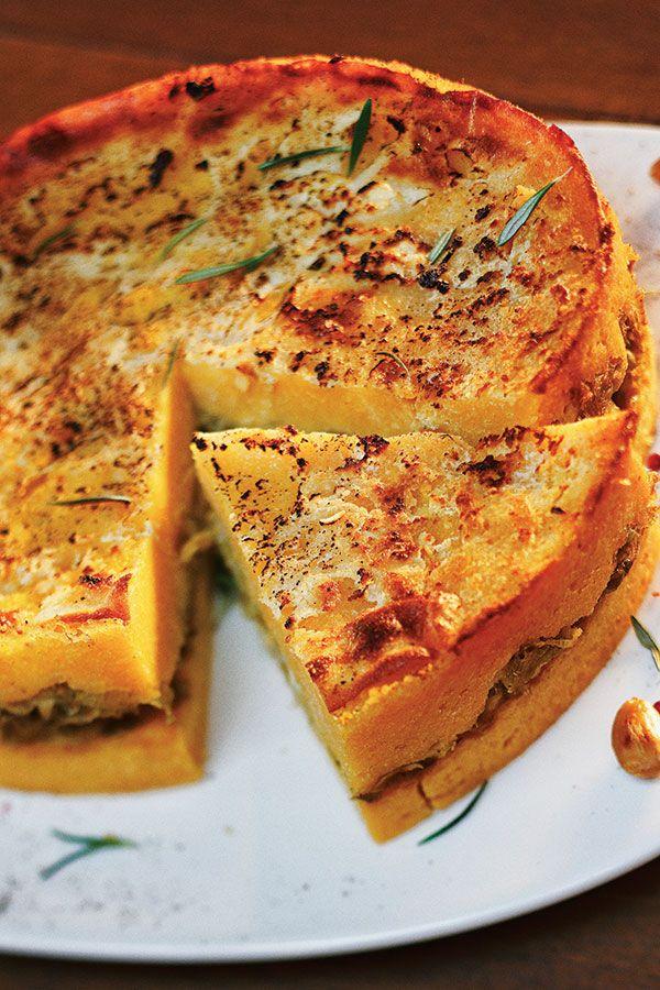 Corn Flour Beurek with leeks Balkan #cuisine