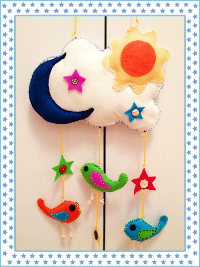 Manualidades para decorar la habitaci n del beb manualidades pinterest princess - Manualidades para la habitacion ...