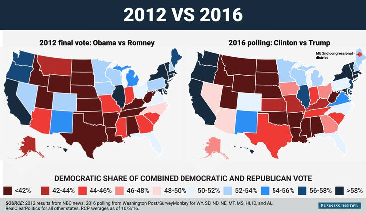The 2016 electoral map looks very similar to 2012  but already a few big differences are forming