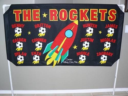 How to Make a Felt Soccer Banner