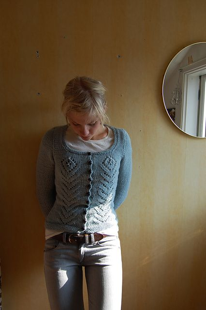 Ravelry: Project Gallery for Tall Flower Cardi pattern by Cecily Glowik MacDonald