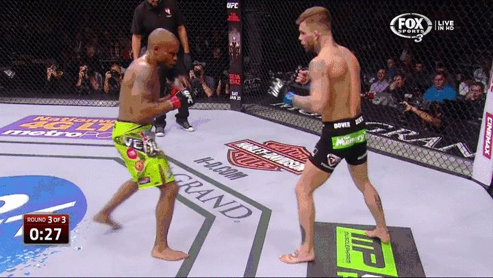 UFC 182: Cody Garbrandt Pounds the Daylights Out of Marcus Brimage For 3rd Round TKO | FatManWriting